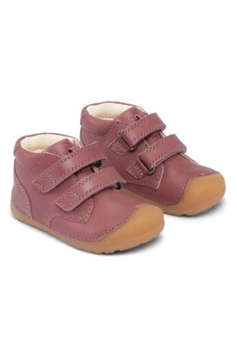 Barefoot cipő_Bundgaard Petit Velcro_Dark Rose