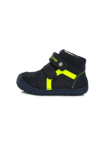 D.D.Step Kisfiú Barefoot bokacipő - A073-874C - Royal Blue