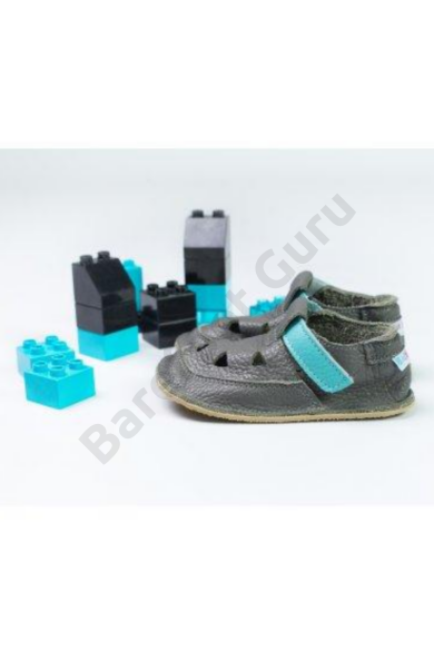 Barefoot cipő_Baby Bare Shoes_Top Stitch_ Blue Beetle