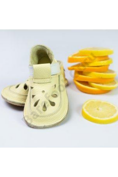 Barefoot cipő_Baby Bare Shoes_Top Stitch_ Canary