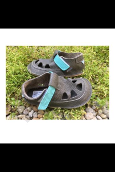 Barefoot cipő_Baby Bare Shoes Summer Perforation_Blue Beetle