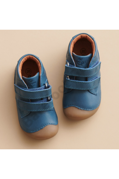 Barefoot cipő_Bundgaard Petit Velcro_Petrol