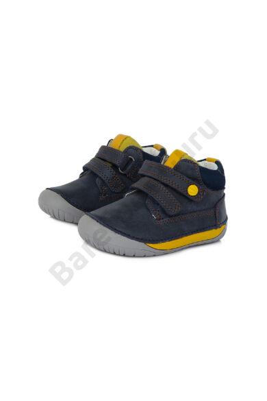 D.D.Step Kisfiú Barefoot bokacipő - S070-520 - Royal Blue