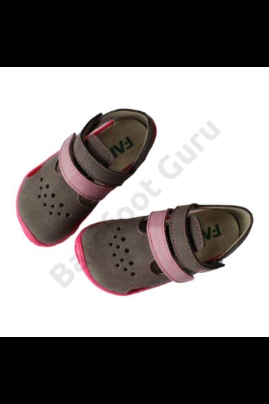 Fare Bare - Barefoot szandál - Grey/Pink